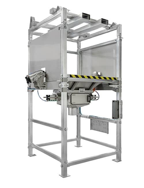 Gimat bulk bag dischargers accessories