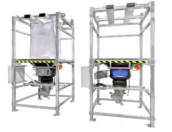 Gimat standard bulk bag unloader