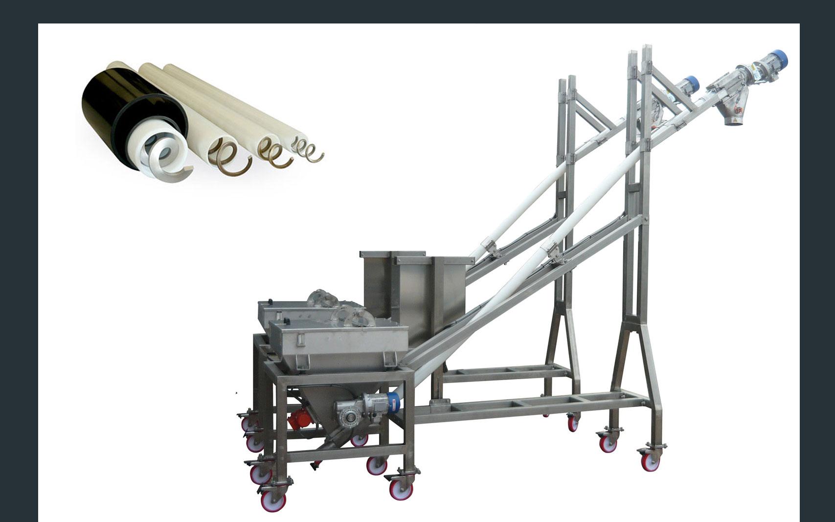 Gimat flexible screw conveyors