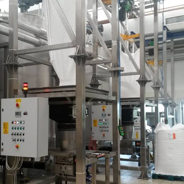 Gimat bulk material hanlding project for food industry