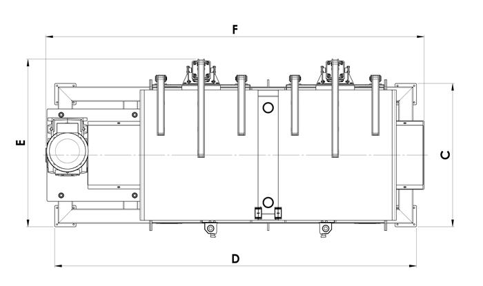 Ribbon mixer dimensions